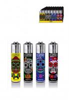 Clipper Feuerzeug Mexican Skulls #5 (Versand nur innerhalb deutschland möglich)