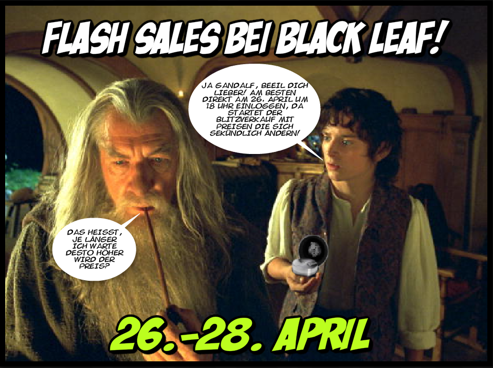 Flash Sale by Black Leaf