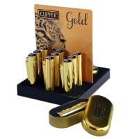 metal by Clipper Stahlfeuerzeuge Gold