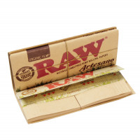 'RAW' Artesano Hemp Longpapers King Size + Tips
